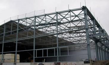 Construction Bâtiment Stockage